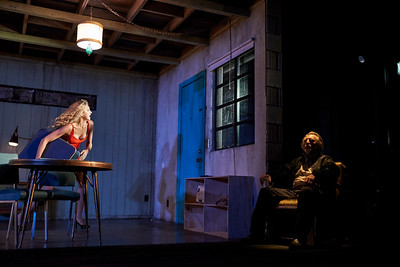 New York, New York - Sept. 13, 2015  Nina Arianda and Gordon Joseph Weiss in the Broadway production of Sam Shepard's play  Fool for Love , at the Manhattan Theater Club's Friedman Theater  Credit: Robert Altman