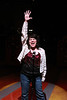 """Kimi Short as Laura singing the last money note in """"Number 5 With a Bullet"""" in New Line Theatre's """"High Fidelity,"""" 2012. Photo credit: Jill Ritter Lindberg."""