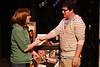 """Terrie Carolan as Anna and Mike Dowdy as Dick, in New Line Theatre's """"High Fidelity,"""" 2012. Photo credit: Jill Ritter Lindberg."""