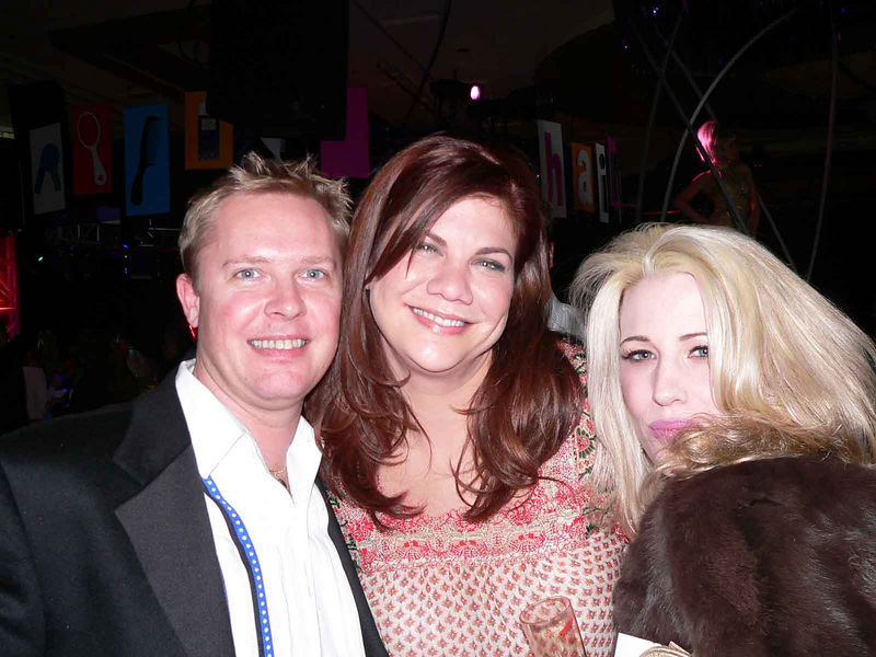 "Me, Kristen Johnston of ""3rd Rock From the Sun"" fame and Natasha"