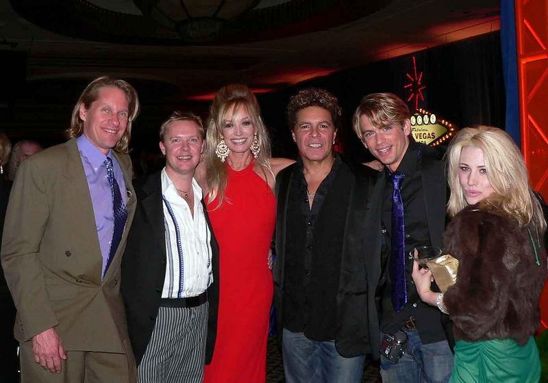 "Susan's husband Jeff, me, Susan Anton, Clint Holmes, Austin Miller (Link in ""Hairspray"") and Natasha"