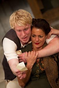 Michael Benz as Hamlet Gertrude (played by Miranda Foster)