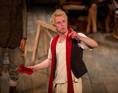 Michael Benz as Hamlet