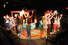 """The company sings """"The Me Inside of Me,"""" in New Line Theatre's HEATHERS, 2015. Photo credit: Jill Ritter Lindberg."""