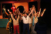 """The company sings """"Beautiful,"""" in New Line Theatre's HEATHERS, 2015. Photo credit: Jill Ritter Lindberg."""