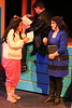 Martha (Grace Seidel) shares her love note with Veronica (Anna Skidis), in New Line Theatre's HEATHERS, 2015. Photo credit: Jill Ritter Lindberg.