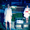 Peony Lantern<br /> Ghosts on the roof in HOUSE SHOW II: HAUNTED. (Sarah Lumsden and Sanami Komori)