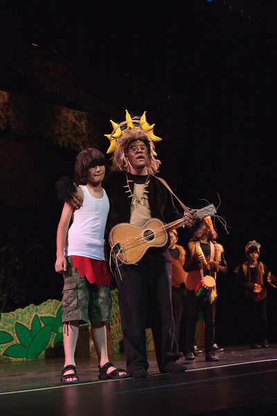2010 Angels on Stage production of The Jungle Book, Sunday Performance