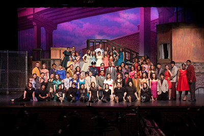 2009 Musical - West Side Story - Individual and Group Photos