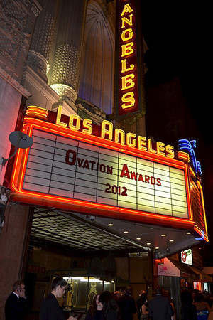 LA Stage Alliance Ovation Awards - Nov. 12, 2012