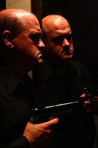 Mike Crowley as The Gangster