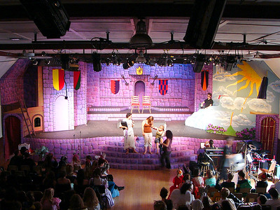 Stage at Dress