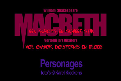 MACBETH - Personages