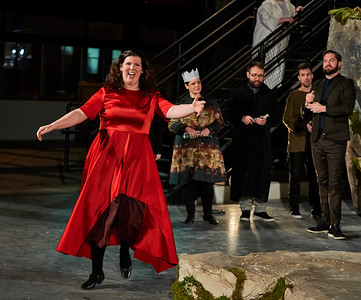 Loftopera's Macbeth by Verdi at MAST Chocolate Factory Brooklyn Navy Yard
