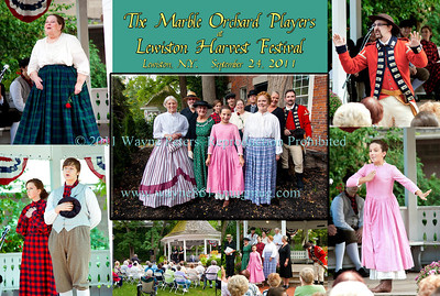 Marble Orchard Players at Lewiston Harvest Festival, September 24, 2011