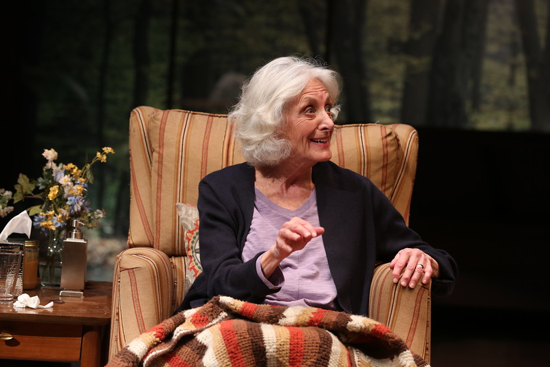 Kathleen Butler in MARJORIE PRIME at Olney Theatre Center<br /> photo: Nicholas Griner