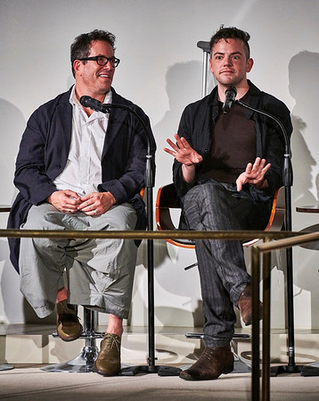 Oct. 1, 2018, 2018 - New York, NY The Guggenheim Museum's Works and Process Series presents the Metropolitan Opera's premiere of composer Nico Muhly's Marnie  Met general manager Peter Gelb leads a panel discussion with Muhly and director Michael Mayer. Mezzo-soprano Isabel Leonard and baritone Christopher Maltman.  Photographer- Robert Altman Post-production- Robert Altman
