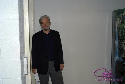 Stephen Sondheim, opening night of BOUNCE at the Goodman Theatre.