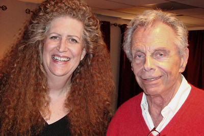 Mort Sahl and Robin Diane Goldstein