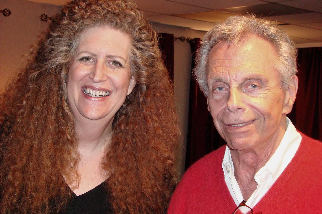 Mort Sahl and Robin Diane Goldstein