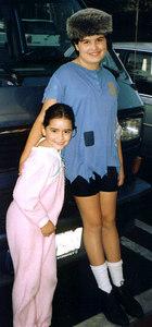 Davene 11 and Joelle 7 in Peter Pan 1997