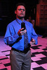 """Jeffrey M. Wright as Dan, singing """"It's Gonna Be Good,"""" in New Line Theatre's """"Next to Normal,"""" 2013. Photo credit: Jill Ritter Lindberg."""