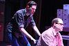 """Ryan Foizey as Gabe and Zachary Allen Farmer as Dr. Madden, singing """"Make Up Your Mind,"""" in New Line Theatre's """"Next to Normal,"""" 2013. Photo credit: Jill Ritter Lindberg."""