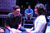 """Ryan Foizey as Gabe and Kimi Short as Diana, singing """"Catch Me, I'm Falling"""" (and Jeffrey M. Wright as Dan in the background), in New Line Theatre's """"Next to Normal,"""" 2013. Photo credit: Jill Ritter Lindberg."""