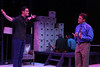 """Ryan Foizey as Gabe and Jeffrey M. Wright as Dan, singing """"I Am the One,"""" in New Line Theatre's """"Next to Normal,"""" 2013. Photo credit: Jill Ritter Lindberg."""