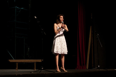 "New Players Company with alumni, family and friends present ""Songs for a Summer Night"" at Ridgewood High School theater on 6/23/2012"