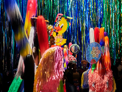 June 6, 2018 - NY, NY   Nick Cave installation / performance of The Let Go at the Park Avenue Armory  Photographer- Robert Altman Post-production- Robert Altman