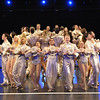 The cast of Olney Theatre Center's production of A CHORUS LINE. (Photo by Stan Barouh)