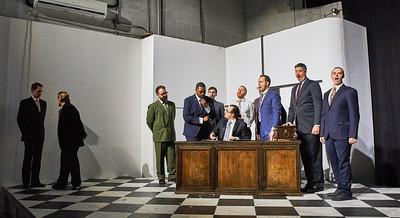Loftopera's Otello by Rossini at LightSpace Studios in Brooklyn