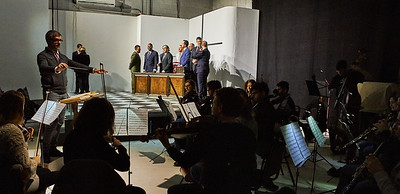 Loftopera's Otello by Rossini at LightSpace Studios in Brooklyn