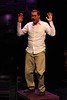 "Keith Parker as the Youth singing ""Stoned"" in New Line Theatre's ""Passing Strange."" Photo credit: Jill Ritter Lindberg."