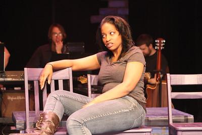 "Jeanitta Perkins as Renata in New Line Theatre's ""Passing Strange."" Photo credit: Jill Ritter Lindberg."