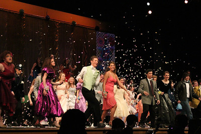 "Exeter Township Senior High School cuts ""Footloose"" with their production April 10, 11, 12."