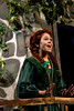 Teenage Princess Fiona, played by Allison Sutton, sings about her days locked in the tower.