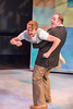 (R-L) Nikolas Hoback (Grumio) & Sam Dinkowitz (Hortensio),  Photo Credit: David Kinder