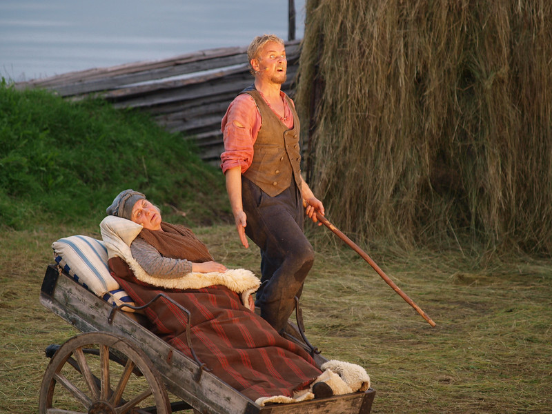 The death of his mother