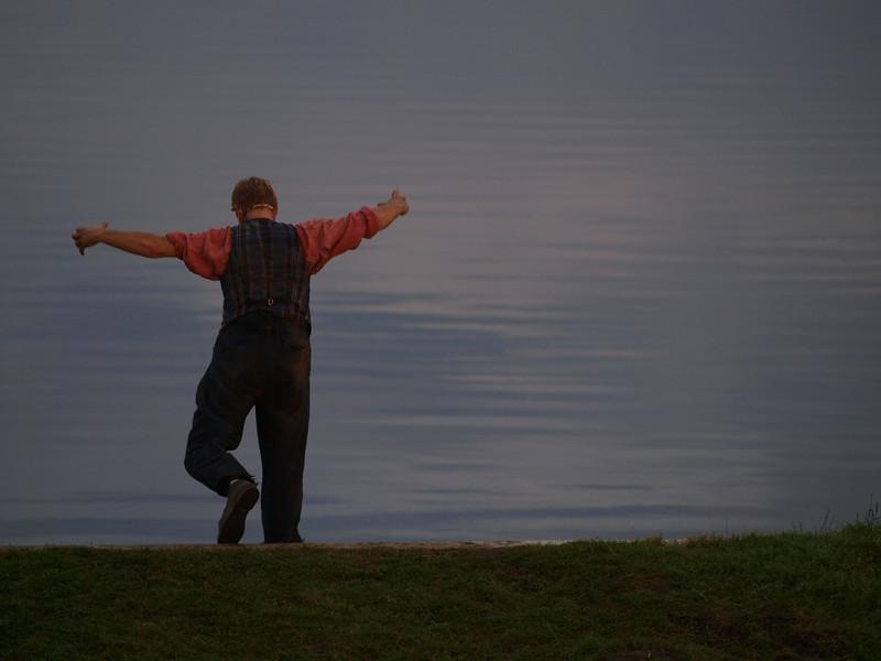 Peer leaving Norway