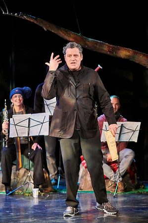 Dec.1, 2018, 2018 - The Guggenheim Works and Process series presents a holiday favorite- Isaac Mizrahi narrating Provofiev's Peter and the Wolf. Brad Lubman (Dec. 1–2)  conducts Ensemble Signal, and a cast performs choreography by John Heginbotham  Photographer- Robert Altman Post-production- Robert Altman