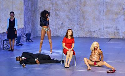 Odéon-Théâtre de l'Europe's production of Phaerda(s) with Isabelle Huppert