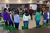 Moosonee Cree Opera Pimooteewin: Northern Lights Secondary School Workshop with Grade 9 girls and stage manager Sam Joyce and tenor Bud Roach
