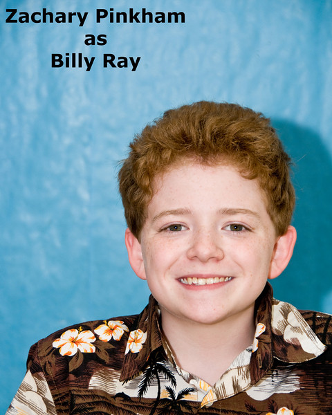 Zachary Pinkham as Billy Ray
