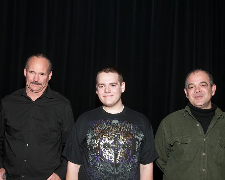 Jim Holland, Thomas Copas, and Anthony Pisarra