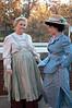Mrs. Paroo (Marilyn Shockey) and Marian (Emma Gorin)