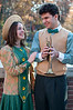Zeneeta Shinn (Samantha Buckley) and Tommy Djilas (David Karlsberg)