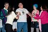 Oz - David E. Elvove (Lion) with Martin Flaum (Guard), Leigh Jansson, Celia Blitzer (Glinda), and Katie Mayo