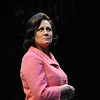Valerie Leonard as Esther Franz in Olney Theatre Center's production of Arthur Miller's THE PRICE. (Photo: Stan Barouh)